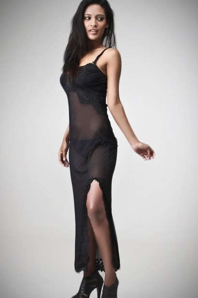 Aviraté Scalloped Lace Nightdress