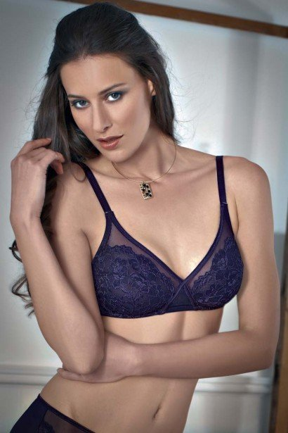 Enamor Crossover Nonwired Lace Bra