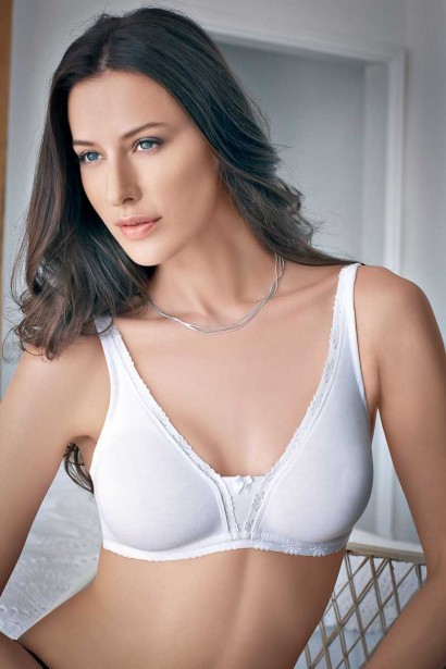 Enamor Decorative Elastic Cotton Bra