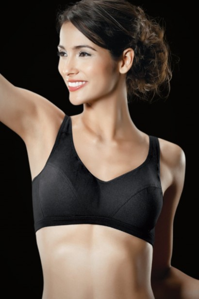 Hanes High Impact Padded Sports Bra