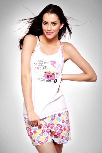 Little Miss I Love You Camisole + Shorts Set