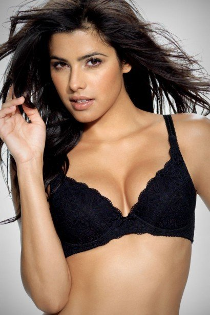 Triumph Lace Full Figure Push Up Bra