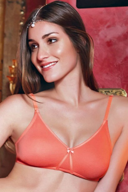 Enamor High Coverage Non Padded Cotton Bra