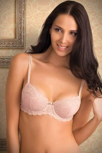 Amante English Lace Underwire Bra