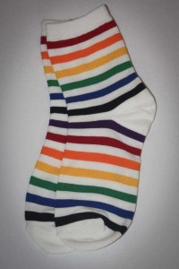 Zivame Striped Crew Socks