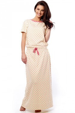 Coucou Maxi Dress with Draw Strings At The Waist