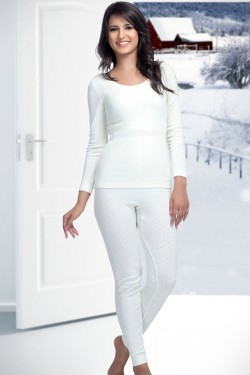 Kanvin Cotton Long Sleeve Thermal Vest