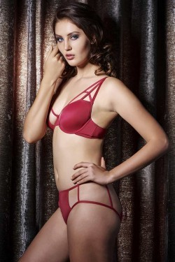 ea33c862d5 Buy Zivame On The Edge Of Fantasy Wired Bra With Bikini Brief at Rs.1790  online