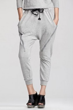 Ing2Ing Drop Crotch Ankle Pants