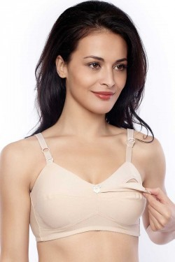 Penny High Coverage Nursing Bra With 4 Nursing Pads