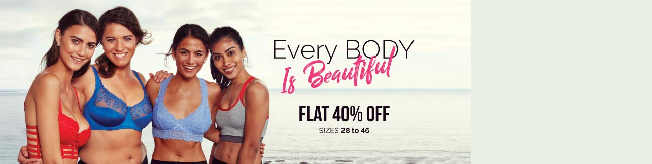 Every Body is Beautiful Flat 40% OFF
