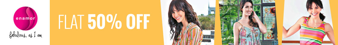 Flat 50% off on Enamor Nightwear @ Zivame – Clothings & Apparels