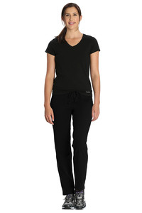 Jockey Cotton Stretch Lounge Pants-Black