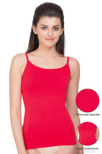 Zivame Biocrystal Seamless Smoothening Shaping Tank- Red