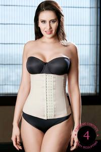 Zivame Thermo Slim Body Sculpting Waist Cincher-Skin