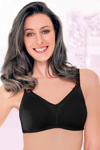 d1a9751f2d Buy Enamor High Coverage Non Padded Bra-Black at Rs.599 online ...