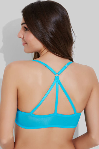 90f9be5e8da83 Buy Zivame Watch Your Back Padded Front Open Bra- Sky Blue at Rs.837 ...