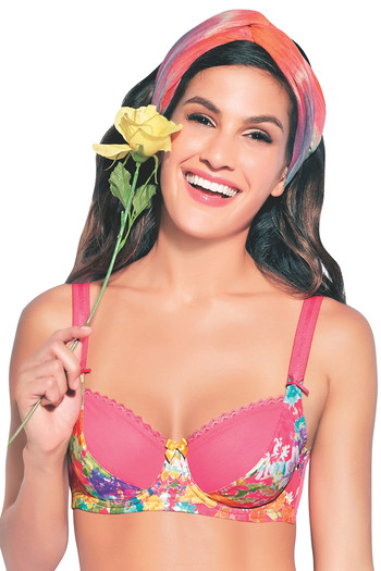 4669a1f50b Buy Enamor Non Padded Wired Bra - Light Pink at Rs.895 online
