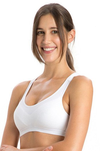 35caa9a623bb6 Buy Jockey Racerback Padded Sports Bra- White at Rs.649 online ...