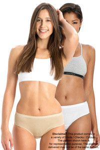 Jockey Cotton Hipster Brief (Pack of 2)- Light Assorted