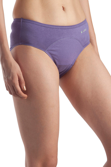 Lavos High Rise No Stain Period Hipster Brief Purple
