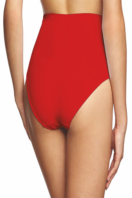 Lavos High Rise Maternity Hipster Brief Red