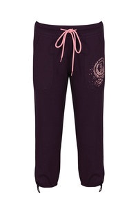 Lovable Pure Cotton Capri with Side Scoop Pockets