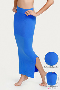 Zivame Mermaid Saree Shapewear-Blue