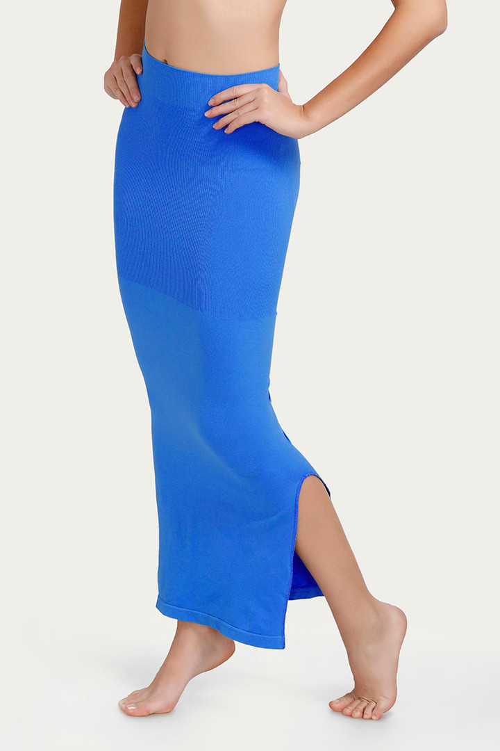 Zivame Mermaid Saree Shapewear Blue