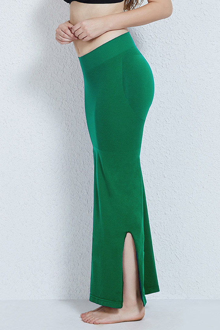 Zivame Mermaid Saree Shapewear Green