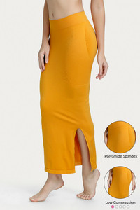 Zivame Mermaid Saree Shapewear-Mustard