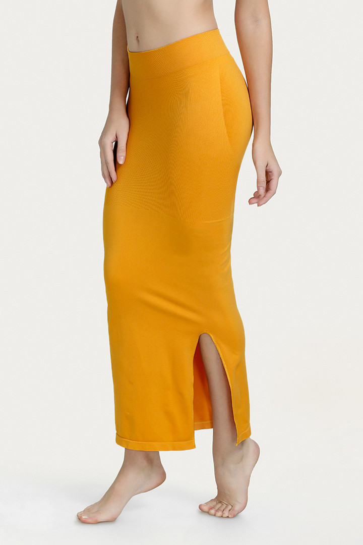 Zivame Mermaid Saree Shapewear Mustard