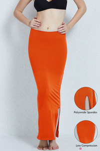 Zivame Mermaid Saree Shapewear-Orange