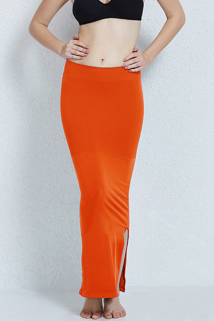 Zivame Mermaid Saree Shapewear Orange