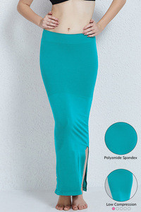Zivame Mermaid Saree Shapewear-Turquoise