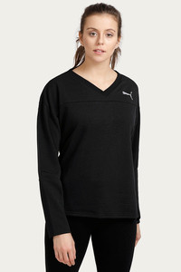 Puma Swagger Crew Sweat Shirt Black