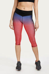 Puma Graphic Three Fourth Pant- Multicolour