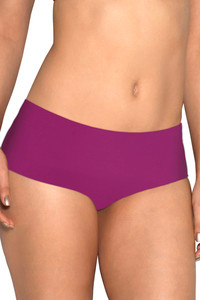 Amante Silicon Floss Seamless Mid Rise Hipster brief-Purple