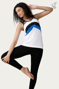 Zelocity Easy Movement Ultra Light Weight Tank Top- White