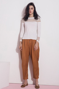 Zivame Trapered Fit Casaul Pant Brown