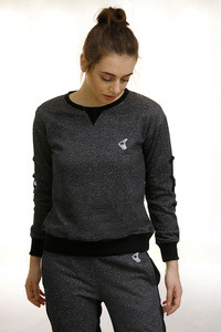 Zelocity Sweatshirt Cotton Light Grey Melange