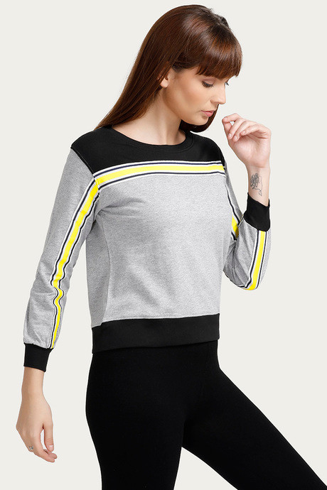 Zelocity Pure Cotton Sweatshirt Grey