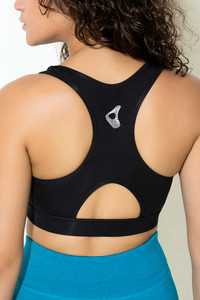 Zelocity Low Impact Sports Bra Black