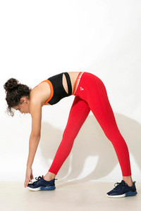 Zelocity Fitted Legging Red