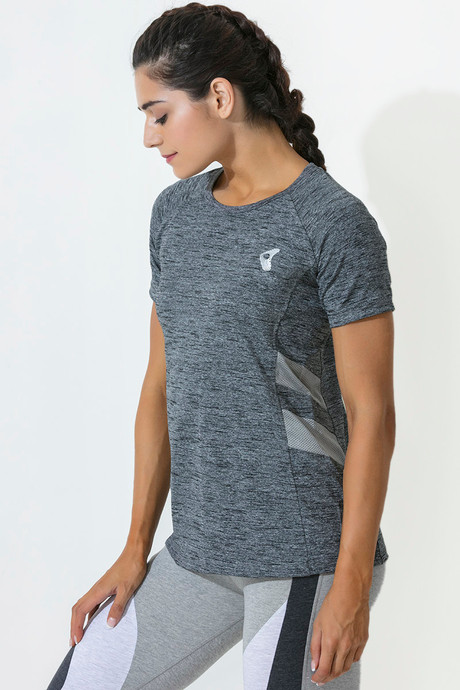 Zelocity Decode Collection Relaxed Fit Tee Grey