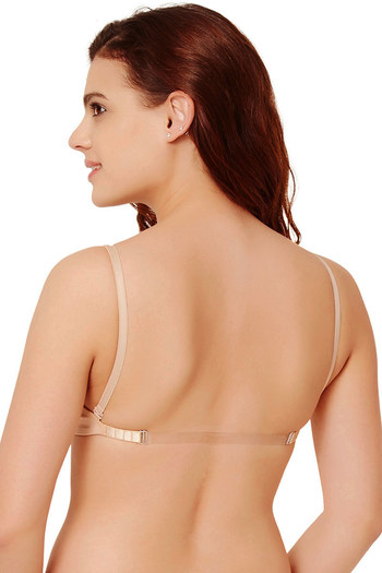 88e9abea5c Buy Rosaline Double Layered Wirefree Comfort Backless Bra- Skin at Rs.349  online