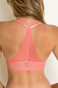 Zivame Hues Of Tuscany Moderate Lift Bra Coral