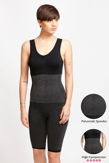65eeac7d4ed77 Buy Zivame Body Sculpting Bodysuit With Bust - Black at Rs.1397 online