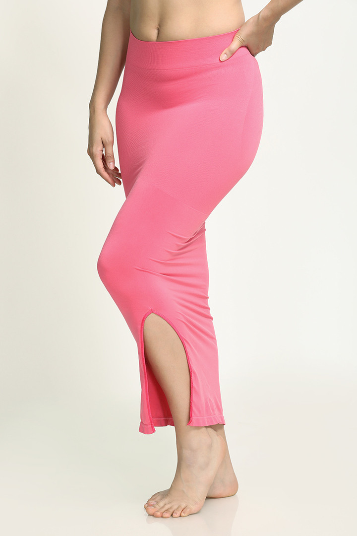 Zivame Mermaid Saree Shapewear Dark Pink