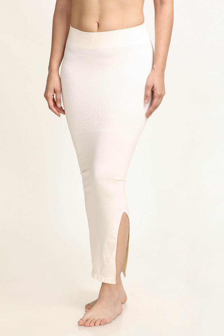 Zivame Mermaid Saree Shapewear Ivory